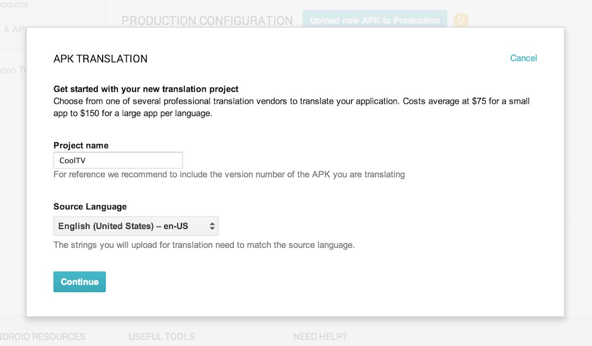 Android Developers Blog: Google Play App Translation Service