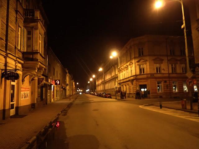 Nocny Czeski Cieszyn