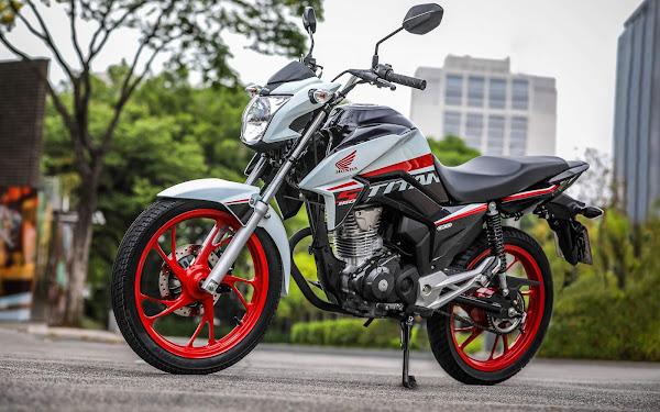 Honda CG-160 - moto mais vendida do Brasil em 2021