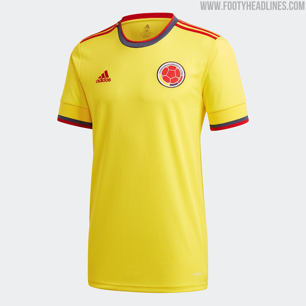 Colombia 2021 Copa America Home Kit Released - Footy Headlines