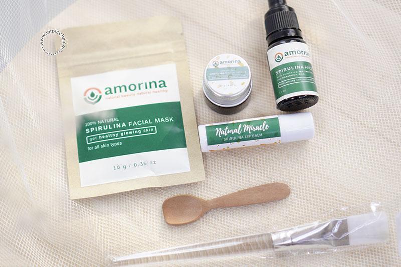 Amorina Skincare Berbahan Dasar Spirulina
