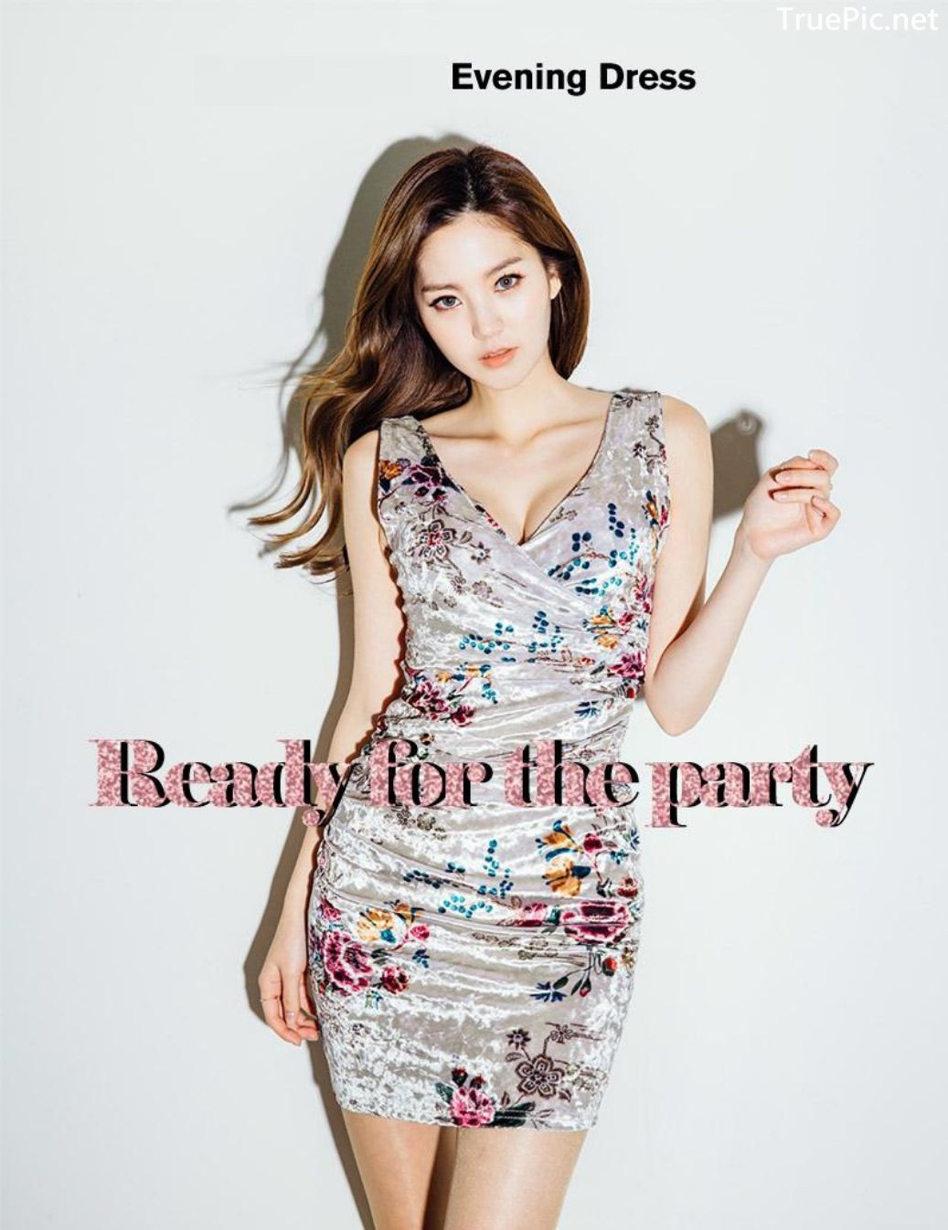 Image-Korean-Fashion-Model-Lee-Chae-Eun-Ready-For-The-Party-Evening-Wear-TruePic.net- Picture-7