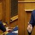 Σφοδρή σύγκρουση Τσίπρα-Μητσοτάκη στην Βουλή για Παυλόπουλο και Σύνταγμα