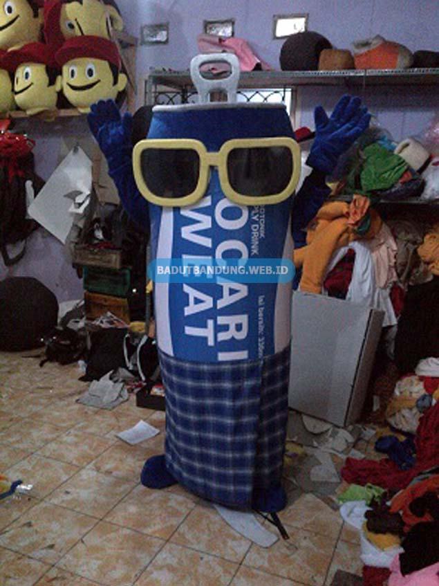 Badut Minuman Kaleng Maskot Pocari Sweat