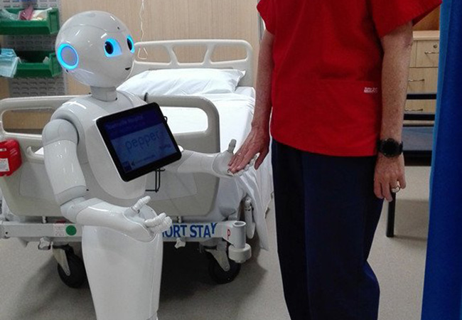 Tinuku Australian hospital recruits Pepper humanoid robot for medical trial