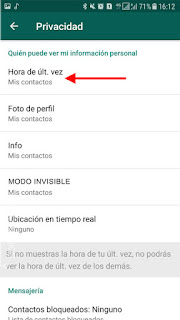 como ser invisible en whatsapp