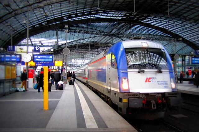 Trem em Berlim