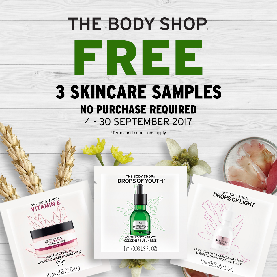 The Body Shop's Love Your Body card has just had a re-vamp, and it's now FREE for everyone (was £5). This not only means that you'll earn 10 points per £1 you spend (towards a point £5 voucher) on top of all existing promotions, but you'll also be entitled to £5 off in your birthday month - that means a free shower gel, lip balm or hand cream.