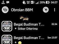 BBM MR BLACK 2.9.0.51 APK (Free Sticker) Terbaru