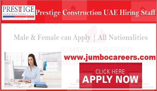 Office jobs in UAE, Urgent office job vacancies in UAE,