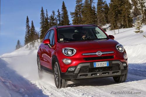 Fiat 500X Arctic Testing