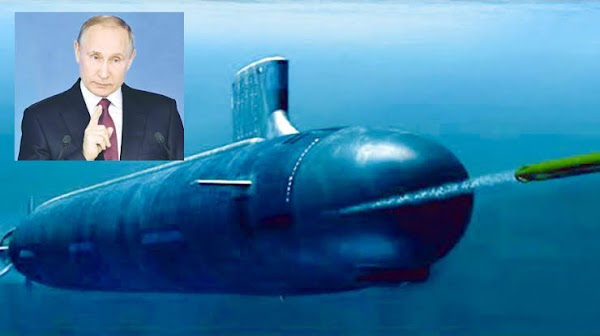 Submarinos nucleares entraran en aguas rusas.