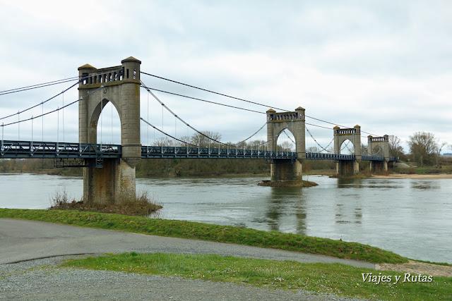 Pont Suspendu de Langeais, Francia