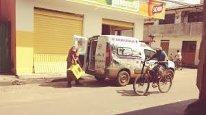 Ambulância da Secretaria de Saúde é flagrada transportando cerveja
