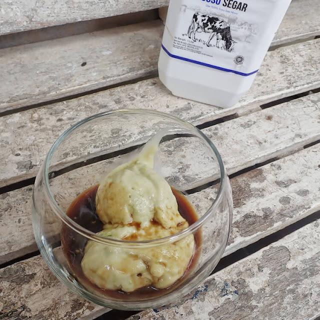pmembuat affogato coffee
