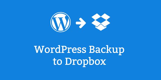Cara Membackup Situs WordPress ke Dropbox