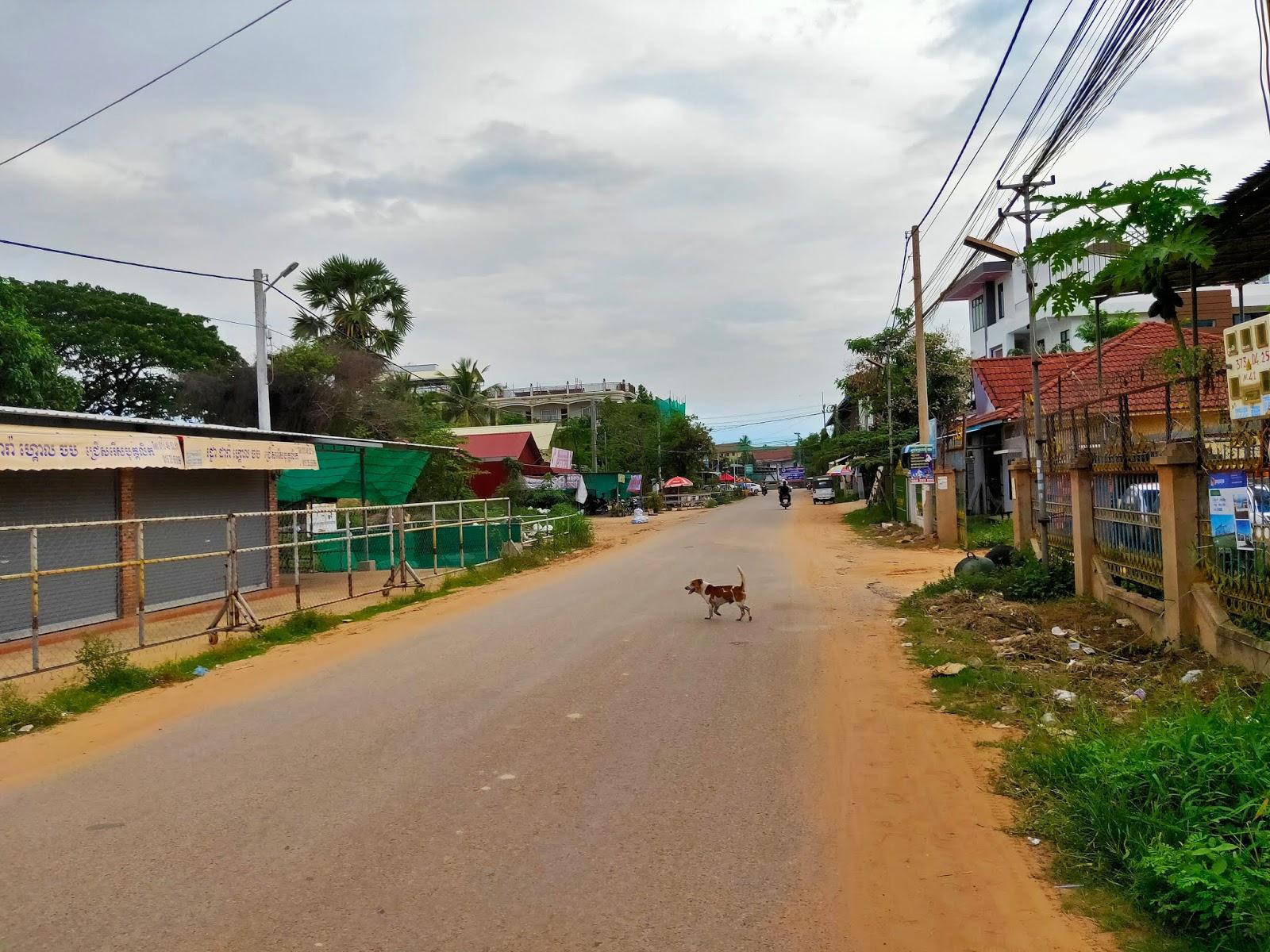 jalanan di siem reap