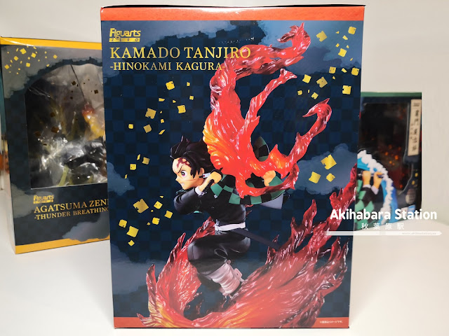 Review de Figuarts ZERO Tanjiro Kamado - Hinokami Kagura ver. - de Kimetsu no Yaiba - Tamashii Nations.