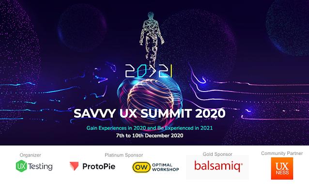 Savvy UX Summit 2020