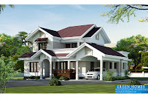 Green Homes Beautiful Villa Elevation In 2000 Sq.feet