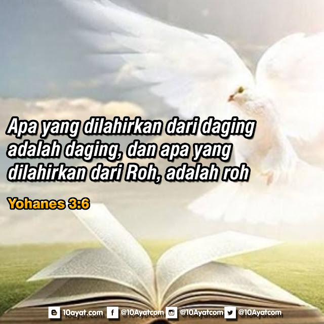 Yohanes 3:6