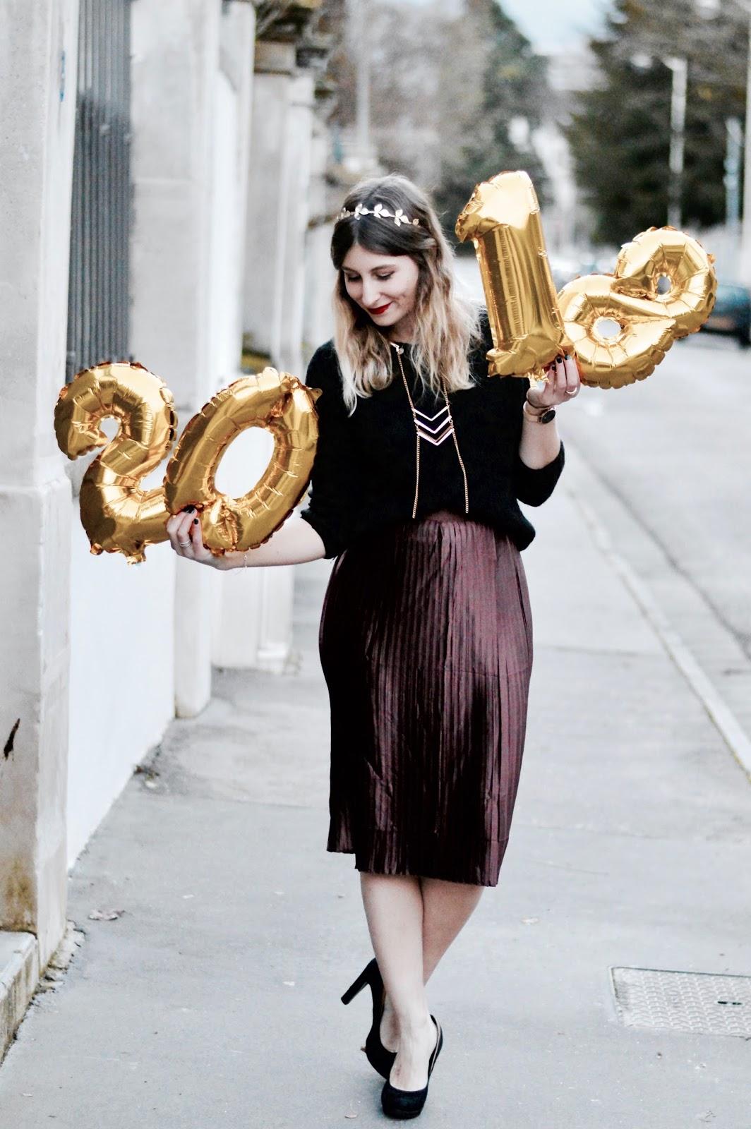look de fêtes : tenue de nouvel an 2018