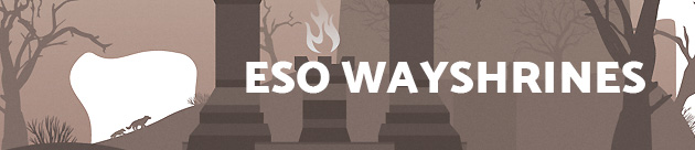 The Elder Scrolls Online - Wayshrines