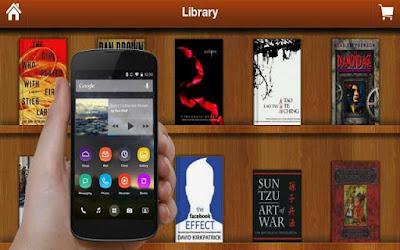 تطبيق مكتبة الكتب لتحميل الكتب الالكترونية المصورة مجانا