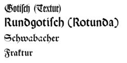 Goottilaiset kirjaimet