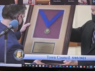 Town Council Mtg 05/05/21 - in 3 parts FM #537, 538, 539 (audio)