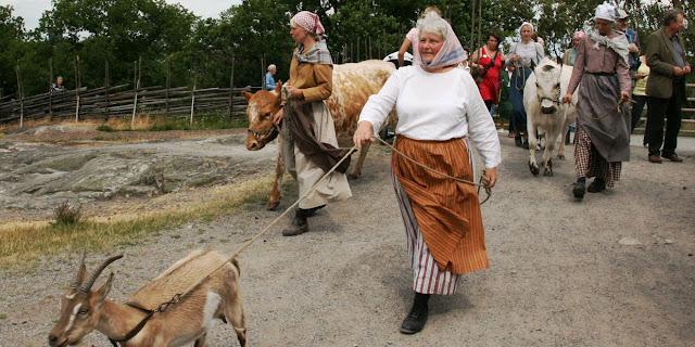 The Skansen Open-Air Museum is the world's first open-air museum
