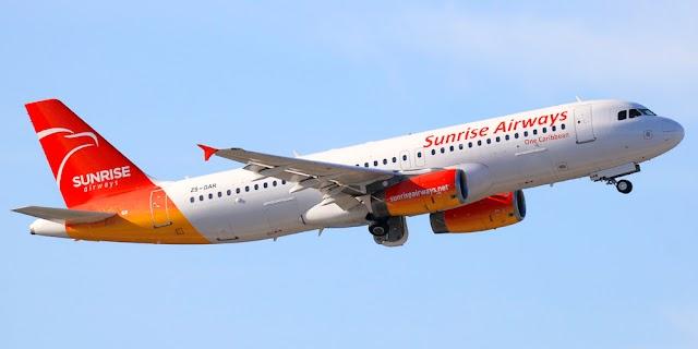 Sunrise Airways con nueva ruta desde Santo Domingo