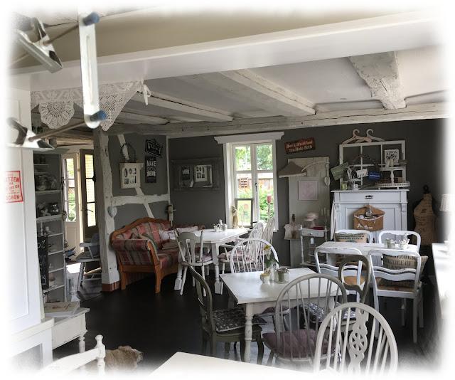 Café Diele im Landhaus in der Wische