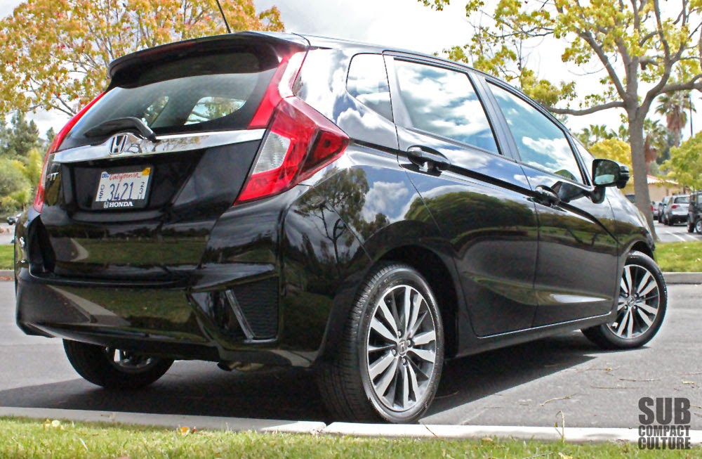 Black 2015 Honda Fit