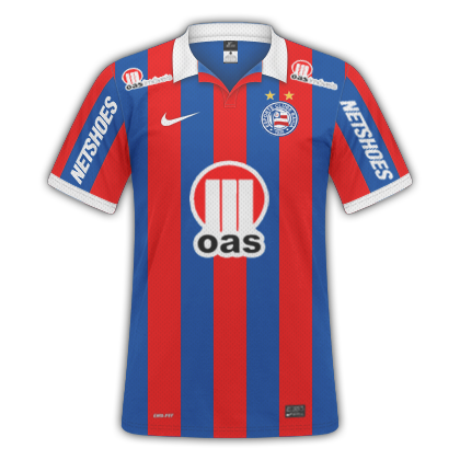 GT Camisas  Camisas Bahia 2013   2014 - Home 2cf98ed070839
