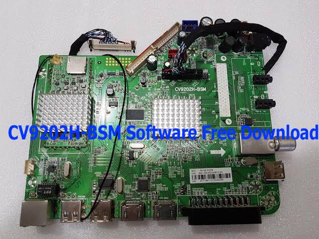 CV9202H-BSM Software Free Download