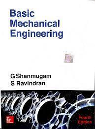 Basic Mechanical Engineering By G. Shanmugam S. Ravindran Pdf