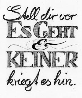 Stell dir vor, es geht und keiner kriegt es hin | www.zeitunschaerfe.de