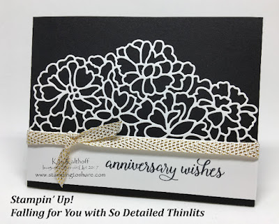 Stampin' Up! Falling for You with So Detailed Thinlits Kay Kalthoff Stamping to Share