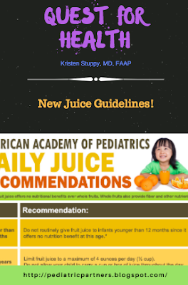 juice, nutrition, AAP