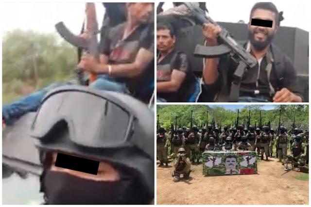 Tanto se estaban amenazando que ya se toparon Cárteles Unidos se topan contra Elite del CJNG en Aguililla, Michoacan reportan mas de 11 muertos