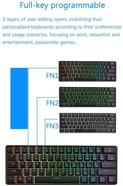 GK61 Mechanical Gaming Keyboard Review
