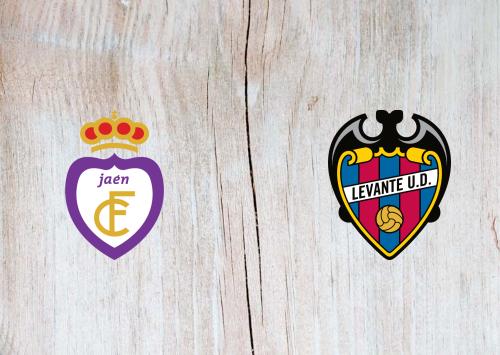 Real Jaén vs Levante -Highlights 12 January 2020