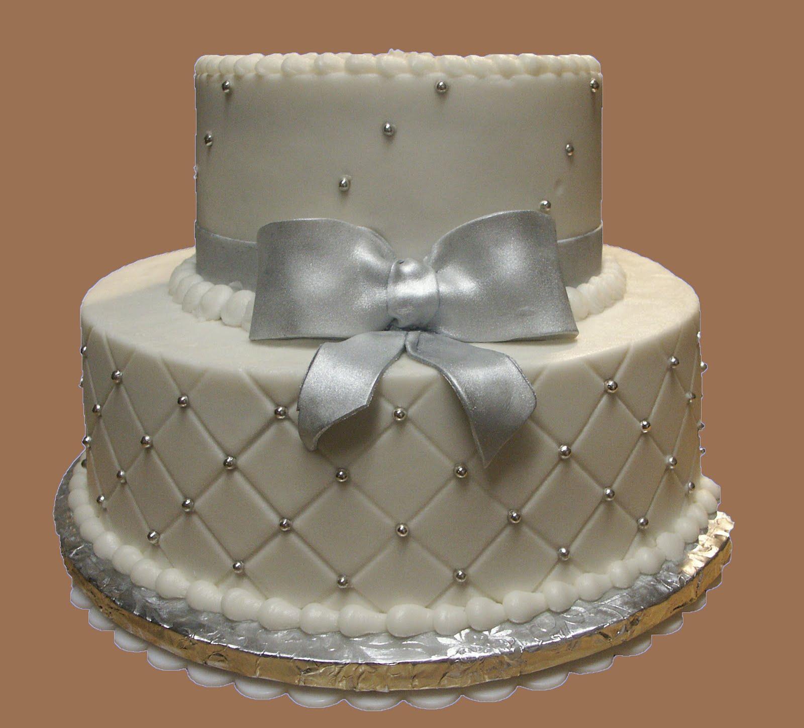 25th Wedding Anniversary Decoration Ideas: Cakes And Cakes: 25TH Wedding Anniversary *Buttercream And