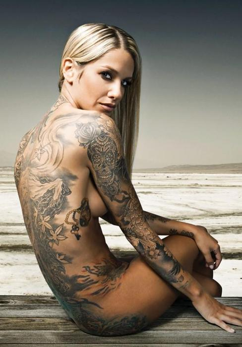 Nude Tattoo Women 121