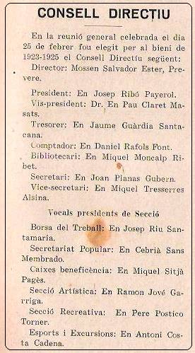 Obra Cristiana nº 9, Abril de 1923