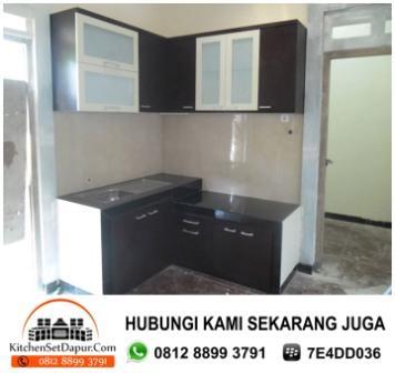 Jasa pembuatan kitchen set serpong hub 0812 8899 3791 for Jual kitchen set aluminium