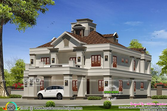 5 bedroom Colonial modern luxury house