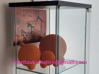 "6"" Foam Wiper Balls in UNIQUEDESC:MERIT P/N.WP10006© Drilling Foam Balls"