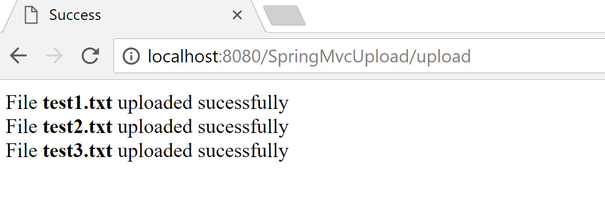 Spring MVC Multipart file upload Example with Validator